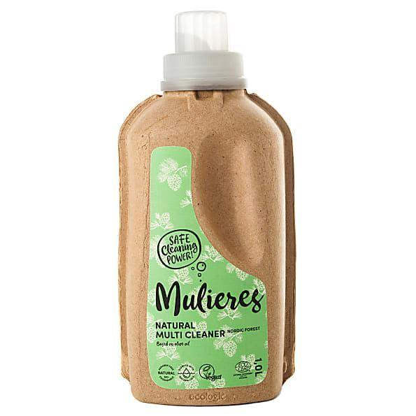 Green World Nat & Organic Ltd - Mulieres Natural Organic Multi Cleaner - Nordic Pine 1ltr