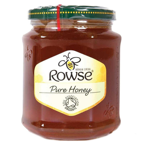 Rowse - Organic Honey - Clear 340g