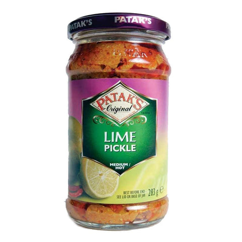 Pataks - Lime Pickle - Medium/hot 283g