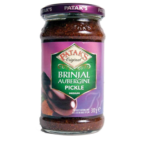 Pataks - Aubergine Pickle (was Bringal) 312g
