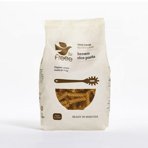 Doves Farm - Organic Brown Rice Fusilli 500g