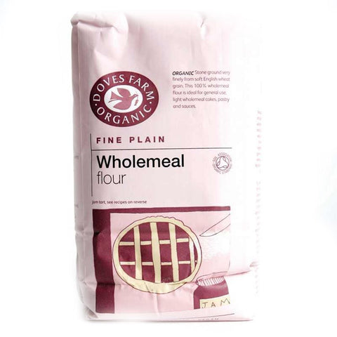 Doves Farm - Fine Plain Wholemeal Flour 1kg