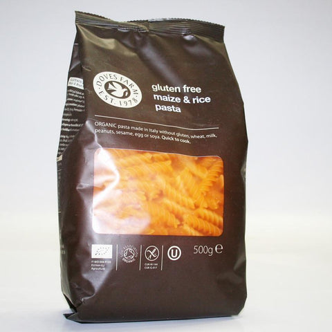 Doves Farm - Organic Maize/rice Fusilli 500g
