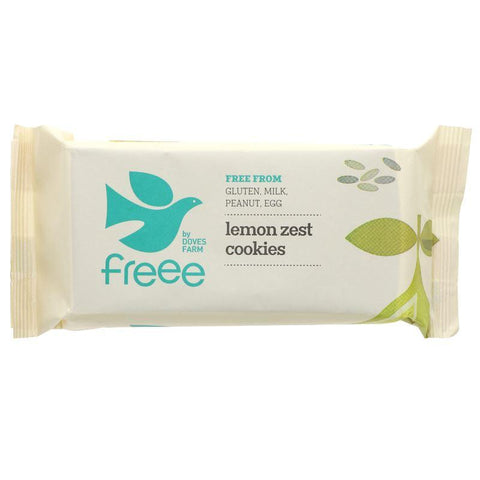 Doves Farm - Lemon Zest Cookies - Gluten Free 150g