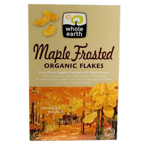 Whole Earth - Maple Frosted Flakes - Organic 375g