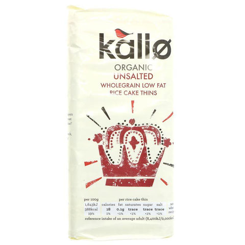 Kallo - Thin Slice No Salt - Organic 130g