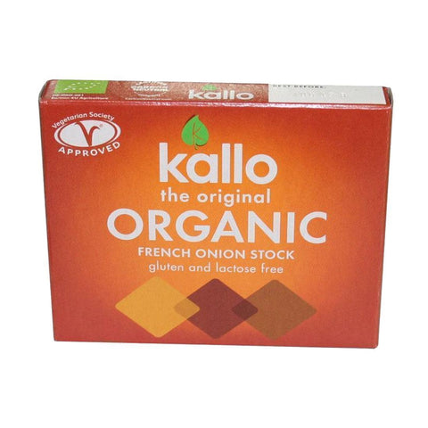 Kallo - French Onion Stock Cubes 66g