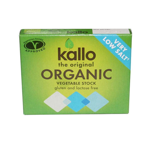 Kallo - Low Salt Vegetable Stock Cubes 60g