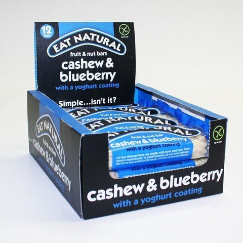 Eat Natural - Blueberry & Cashew Bar 45g
