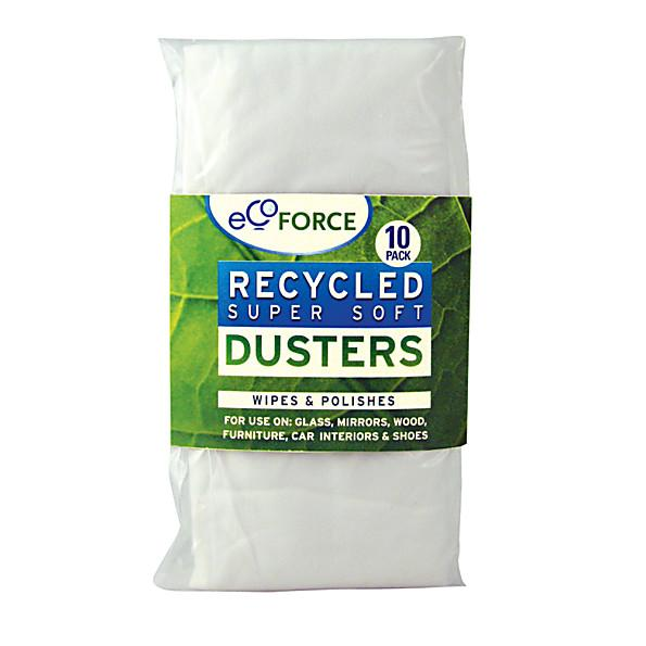 Ecoforce - Recycled Dusters 10 Pack
