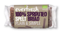 Everfresh Natural Foods - Sprouted Spelt Bread 400g
