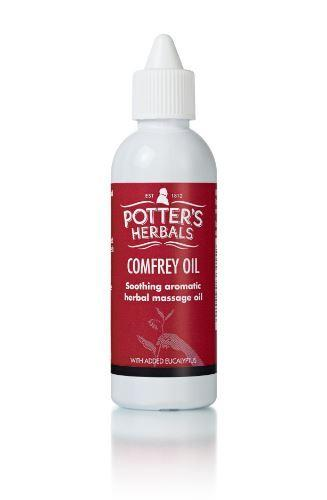 Potters - Comfrey Oil With Eucalyptus 75ml