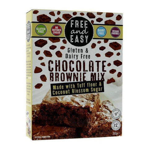 Free & Easy - Chocolate Brownie Mix 350g