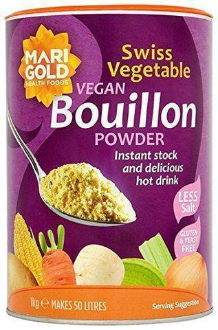 Marigold - Bouillon Powder - Reduced Salt - 1 Kg