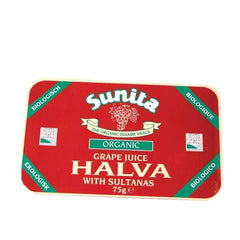 Sunita - Grape Juice & Sultana Halva Organic 75g