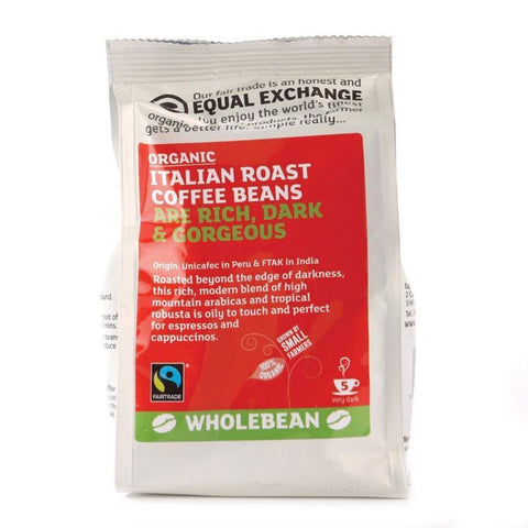 Equal Exchange - Italian Blend Coffee Beans 227g