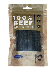 Hollings Ltd - Hollings  100% Beef Bars With Nettle For Dogs 7pk