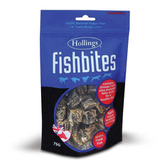 Hollings Ltd - Hollings  Fish Bites For Dogs 400g