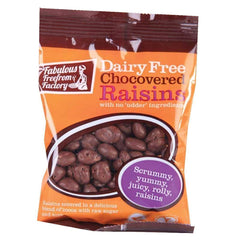 Fabulous Free From Factory - Dairy Free Chocolate Raisins 75g