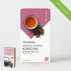 Clearspring - Kukicha;roasted Twig Teabags 20 Bags