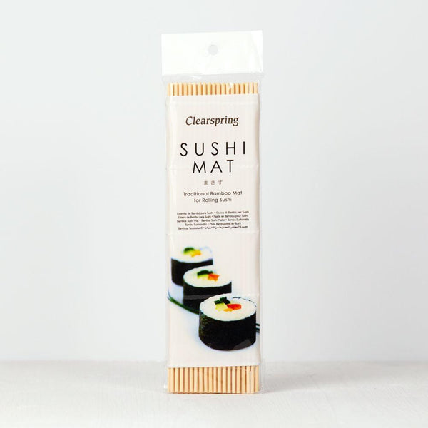 Clearspring - Bamboo Sushi Mat - 10 x Single