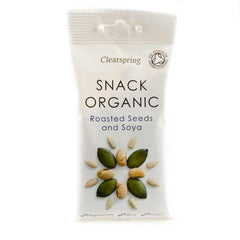 Clearspring - Roasted Seeds & Soya Snack 35g