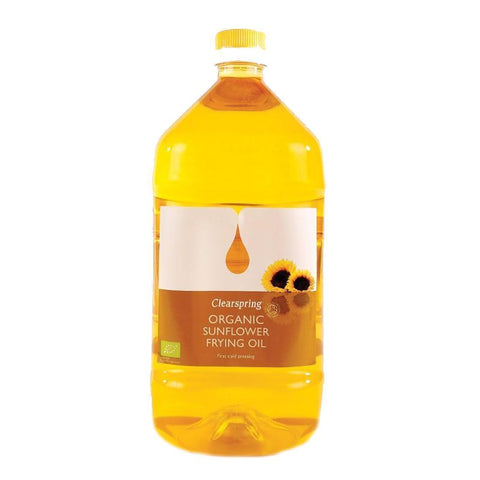 Clearspring - Sunflower Frying Oil Organic 2l