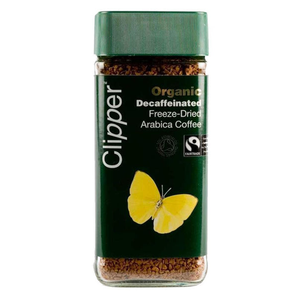 Clipper - Fairtrade Organic Decaf Instant 100 G