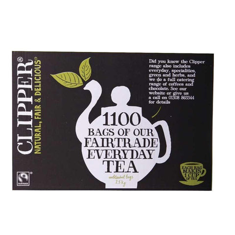 Clipper - Fairtrade Everyday One Cup Bag - 1100 Bags