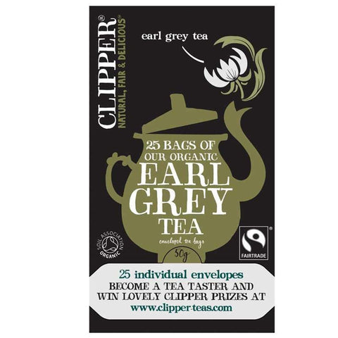 Clipper - Earl Grey - Organic 25bags