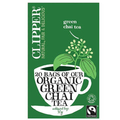 Clipper - Green Chai - Organic 20bags