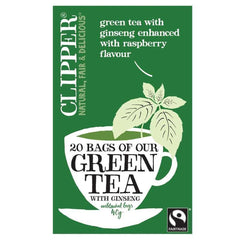 Clipper - Green Tea With Ginseng 20 Bags
