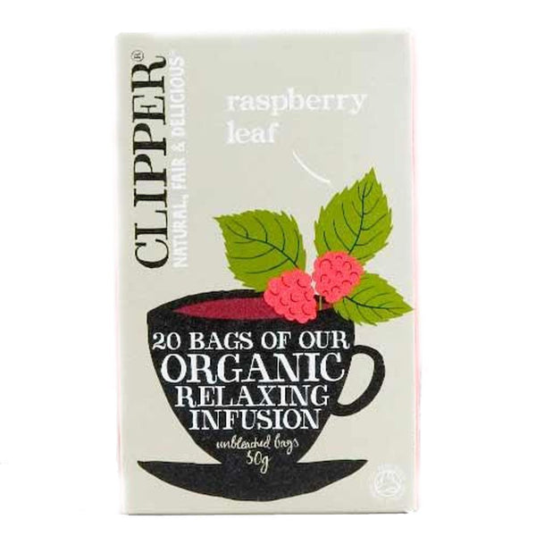 Clipper - Raspberry Leaf - Organic 20bags