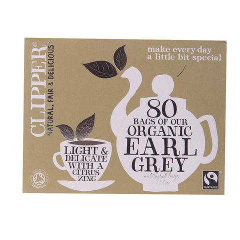 Clipper - Earl Grey - Organic 80bags