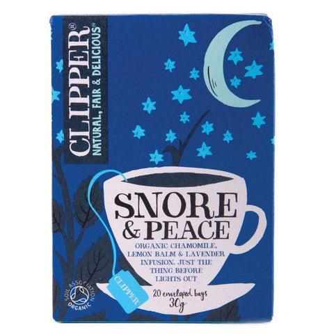 Clipper - Snore & Peace 20 Bags