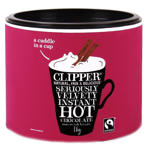 Clipper - Instant Hot Chocolate 1kg