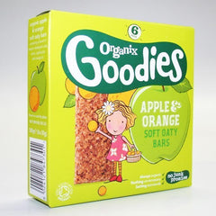 Organix - Apple & Orange Soft Oaty Bar 6 x 30g