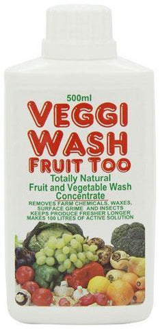 Food Safe - Veggie Wash - Concentrated 500ml