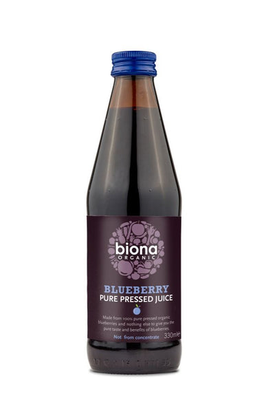Biona - Organic Blueberry Juice 330ml