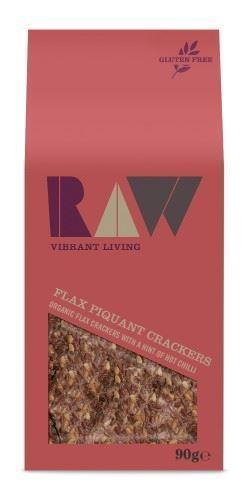 Raw Health - Flax Piquant Tomato Raw Crackers 90g