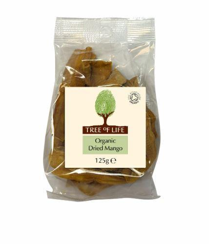 Tree Of Life - Organic Dried Mango 125g