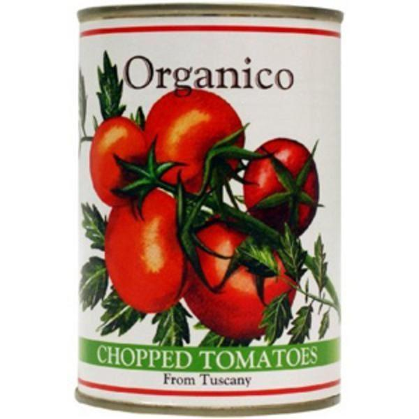 Organico - Chopped Tomatoes From Tuscany - Organic 400g