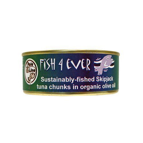Fish 4 Ever - Skipjack Tuna Chunks In Olive Oil 160g