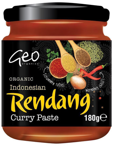 Geo Organics - Indonesian Rendang Curry Paste 180g