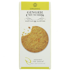 Against The Grain - Organic Ginger Crunches 150g