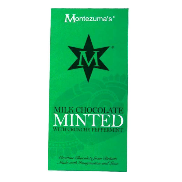 Montezuma's - Minted Milk Chocolate 90g