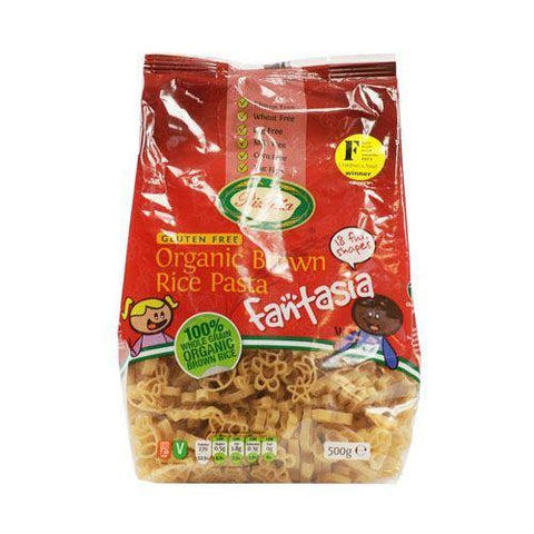 Rizopia - Brown Rice Fantasia Pasta 500g