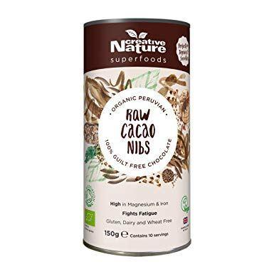 Creative Nature - Cacao Nibs - Organic 150g