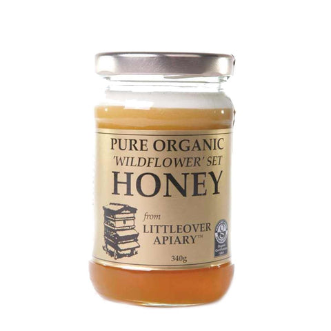 Littleover Apiaries - Organic Wildflower Set Honey 340g