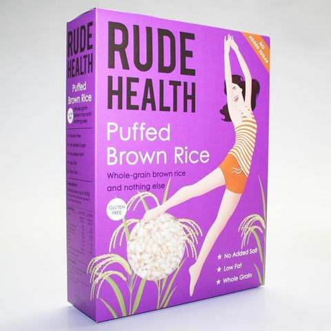 Rude Health Foods - Puffed Brown Rice 225g